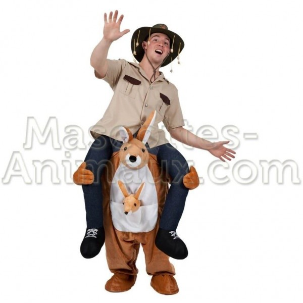 buy cheap kangaroo riding mascot costume. Fancy kangaroo riding mascot costume. Discount kangaroo riding mascot.