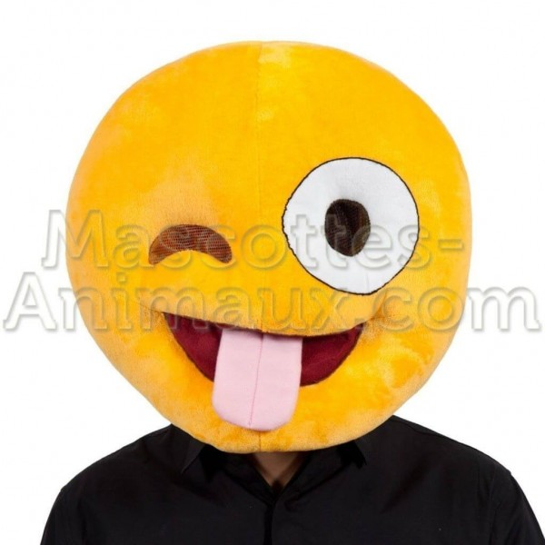 buy cheap smiley crazy head mascot costume. Fancy smiley crazy head mascot costume. Discount smiley head mascot.