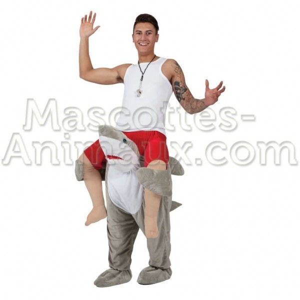 Buy cheap shark riding mascot costume. Fancy shark riding mascot costume. Discount shark riding mascot.