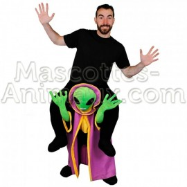 Buy cheap alien riding mascot costume. Fancy alien riding mascot costume. Discount alien riding mascot.