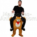 Achat riding mascotte ours teddy bear pas chère. Déguisement riding mascotte ours. riding Mascotte discount ours.