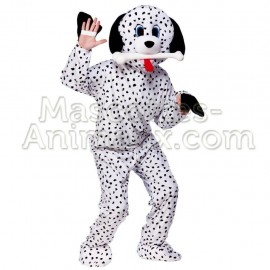 Buy cheap dalmatian dog mascot costume. Fancy dalmatian dog mascot costume. Discount dog mascot.