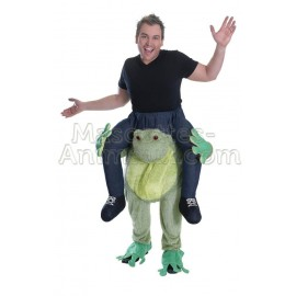 Buy cheap frog riding mascot costume. Fancy frog riding mascot costume. Discount frog riding mascot.
