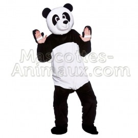 Buy cheap panda mascot costume. Fancy donkey mascot costume. Discount panda mascot.