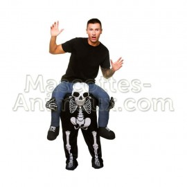 Buy cheap skeleton riding mascot costume. Fancy skeleton riding mascot costume. Discount skeleton riding mascot.