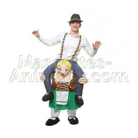 Buy cheap bavarian riding mascot costume. Fancy bavarian riding mascot costume. Discount bavarian riding mascot.