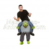 Achat riding mascotte monstre alien pas chère. Déguisement riding mascotte monstre alien. Riding Mascotte discount monstre.