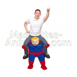 Buy cheap superman riding mascot costume. Fancy superman riding mascot costume. Discount superman riding mascot.