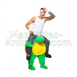 Buy cheap turtle riding mascot costume. Fancy turtle riding mascot costume. Discount turtle riding mascot.