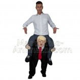 Achat riding mascotte president donald trump pas chère. Déguisement riding mascotte president donald trump. Riding Mascotte disc