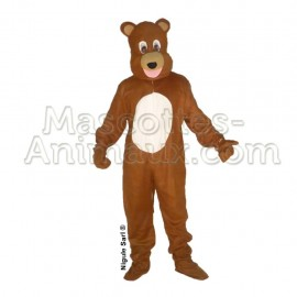buy cheap brown bear mascot costume. Fancy brown bear mascot costume. Discount bear mascot.