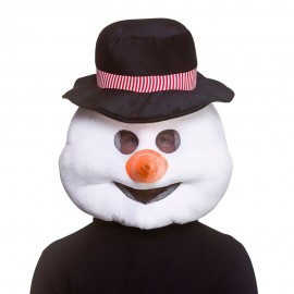 buy cheap snowman head mascot costume. Fancy snowman head mascot costume. Discount snowman head mascot.