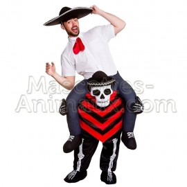 Buy cheap mascot costume day of the dead. Riding mascot costume dias de los muertes.