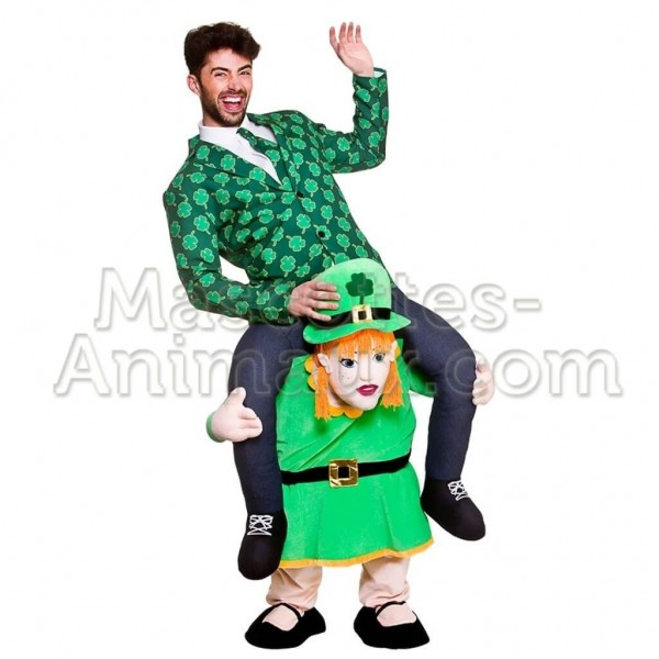 achat riding mascotte saint patrick fille pas chère. Déguisement riding mascotte saint patrick fille.  Riding mascotte discount