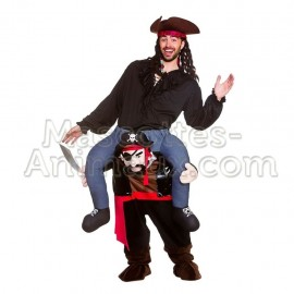 Achat déguisement mascotte Pirate. Déguisement riding mascotte pirate.