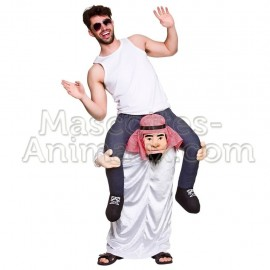buy cheap Emirati Arabian Cheikh riding mascot costume. Fancy  Emirati riding mascot costume. Discount  Emirati riding mascot.