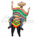 Mexican Riding Mascot Costume