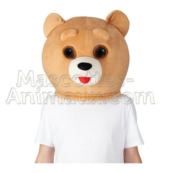 buy cheap bear head mascot costume. Fancy bear head mascot costume. Discount bear head mascot.