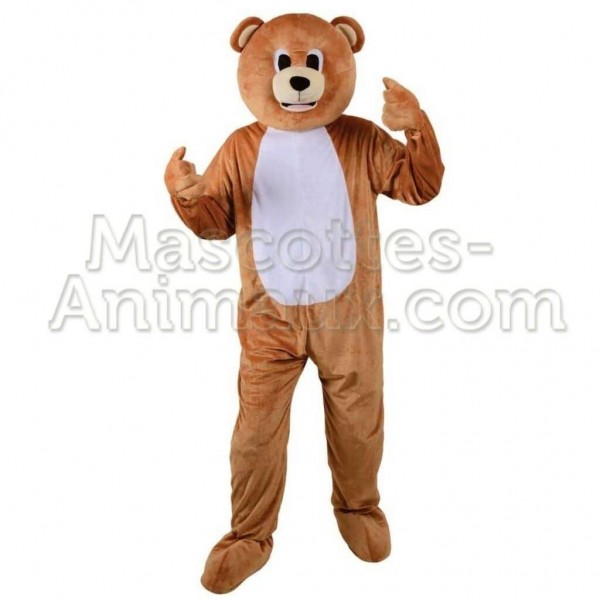 achat mascotte ours teddy bear pas chère. déguisement mascotte ours teddy bear. mascotte discount ours.