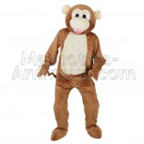 Buy cheap brown monkey mascot costume. Fancy brown monkey mascot costume. Discount monkey mascot